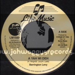 "Life Music-7""-A Yah Wi Deh / Barrington Levy"
