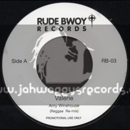 "Rude Bwoy Records-7""-Valerie / Amy Winehouse + Man Down / Rihanna"