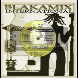 """Blakamix International-7""""-Rise Again / Anthony Simba"""