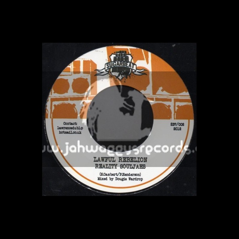 "Sugarbeat-7""-Lawful Rebelion / Reality Souljahs"