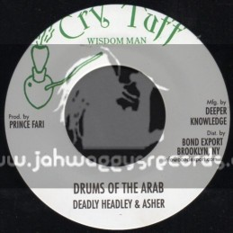 "Cry Tuff-7""-Drums Of The Arab / Deadley Hunter & Asher"
