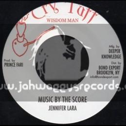 """Cry Tuff-7""""-Music By The Score / Jennifer Lara"""