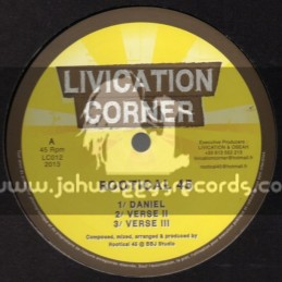"Livication Corner-12""-Daniel + Tribal War / Rootical 45"