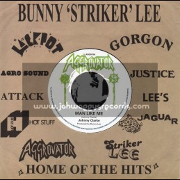 "Aggrovator-7""-Man Like Me / Johnny Clarke"