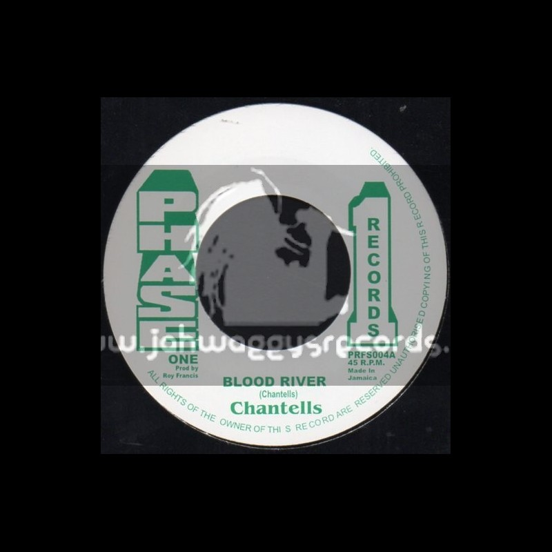 """Phase 1 Records-7""""-Blood River / The Chantells"""