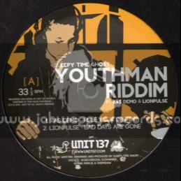 "Unit 137-12""-Youthman Riddim Feat Ras Demo & Lionpulse"