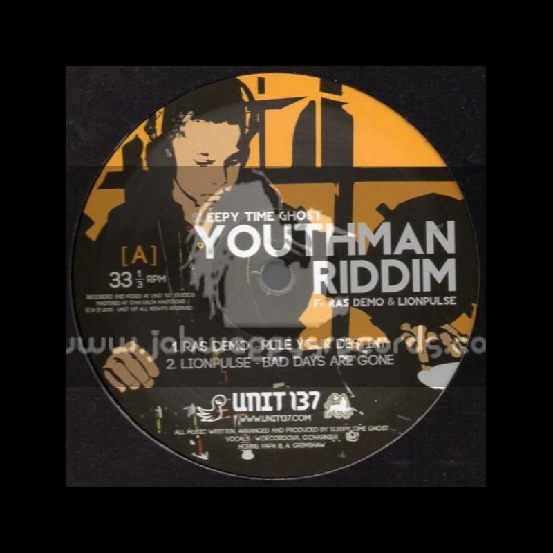 "Unit 137-12""-Youthman Riddim Feat Ras Demo & Lionpulse"