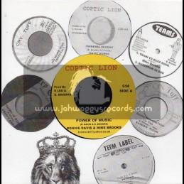 "Coptic Lion-7""-Power Of Music / Ronnie Davis & Mike Brooks"