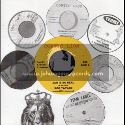 """Coptic Lion-7""""-Jah Is So Real / Rod Taylor"""