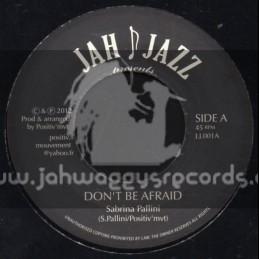 """Jah Jazz-7""""-Dont Be Afraid / Sabrina Pallini"""