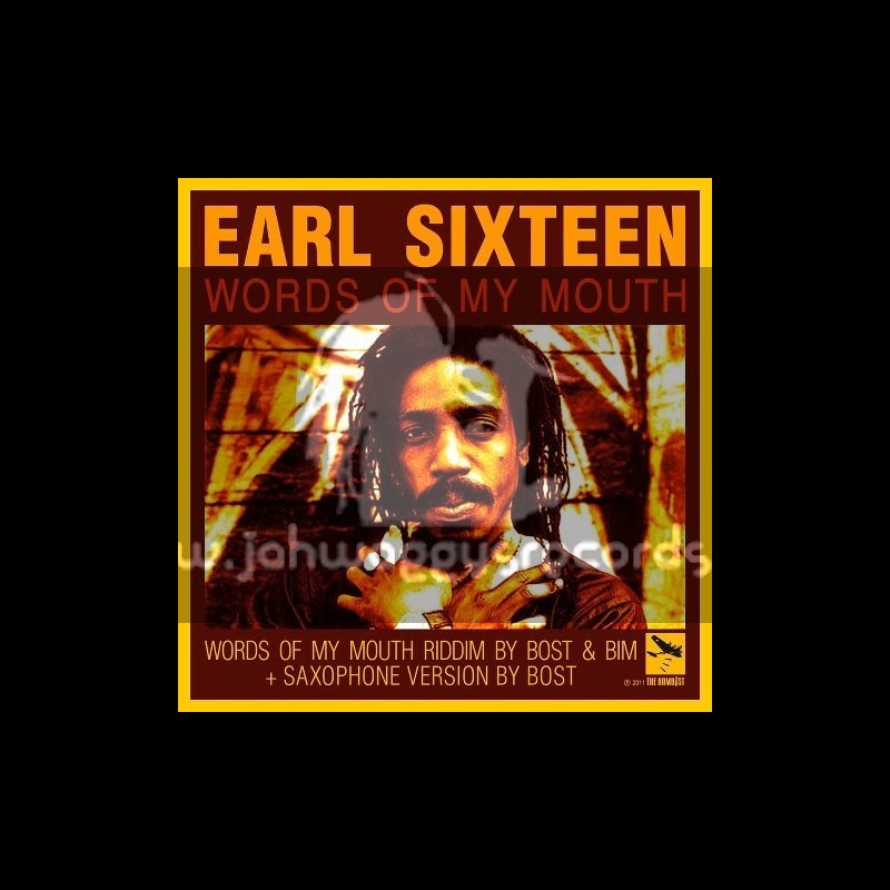 """The Bombist-10""""-Words Of My Mouth / Earl Sixteen + Love Inna Mi Heart / Omar Perry"""