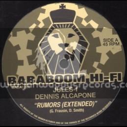 """Bababoom Hi Fi-12""""-Rumors / Jules - I & Dennis Alcapone"""