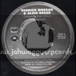 """ACL 2000-7""""-Conquering Ruler / Derrick Morgan & Alien Dread"""