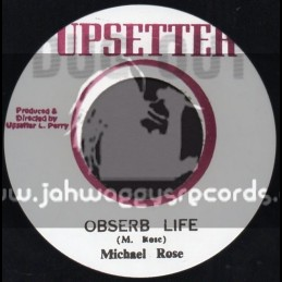 "Upsetter-7""-Obserb Life / Michael Rose"