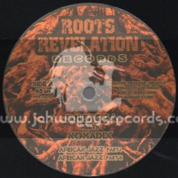 """Roots Revelation Records-10""""-African Jazz + End Of Slavery / Jah Ragga Meets Nomadix"""