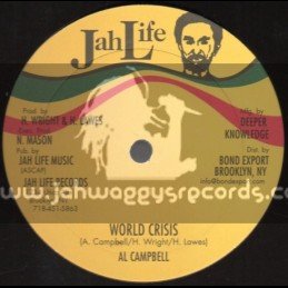 """Jah Life Records-12""""-Collie Herb + World Crisis / Al Campbell"""