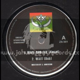 "ZA Records-10""-Wait & See + Do Right"