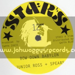 "Stars-12""-Bow Down Babylon / Junior Ross & Spears"