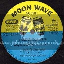 "Moon Wave Music-10""-Give Us Your Space + Table For All Nations / Wayne Mcarthur"
