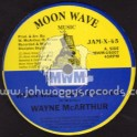 """Moon Wave Music-10""""-When Will There Be Peace / Wayne Mcarthur (Disciples)"""