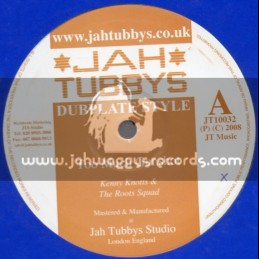 """Jah Tubbys-10""""-Too Much Gunshot/Kenny Knotts+Upstanding/The Roots Squad"""