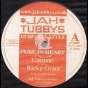 "Jah Tubbys(Test Press)-10""-Pure In Heart / Ricky Grant + Homeward Step / Unitone Feat.Jacin"