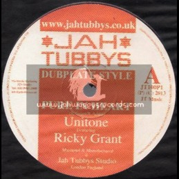 "Jah Tubbys(Test Press)-10""-Pure In Heart / Ricky Grant + Homeward Step / Unitone Feat.Jacin"