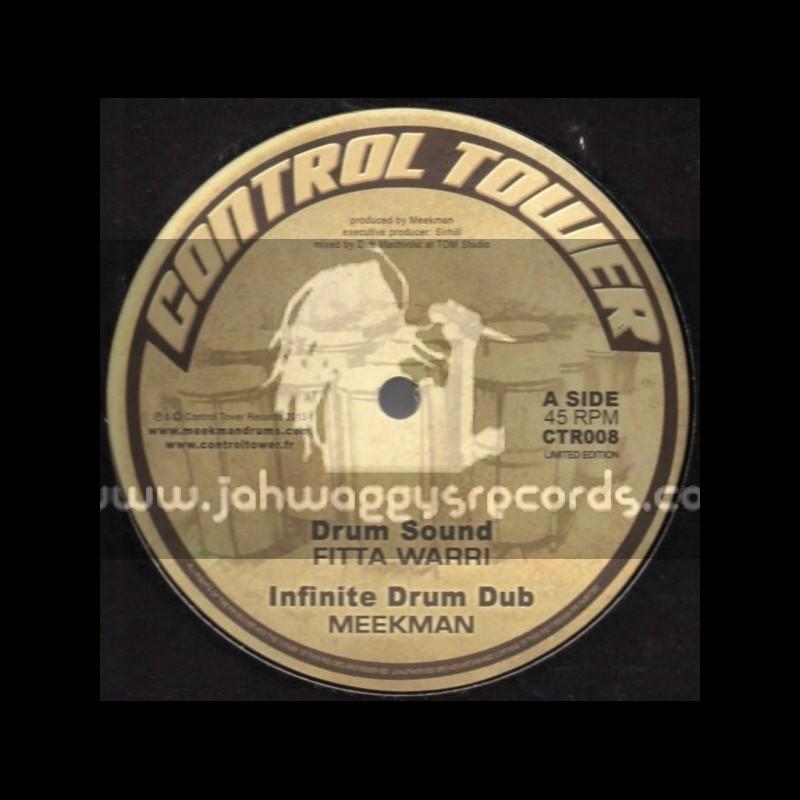 """Control Tower-12""""-Drum Sound / Fitta Warri"""