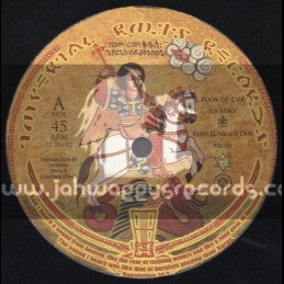 """Imperial Roots Records-10""""-Book Of Life / Sis Miky + On A Mission / Chazbo"""