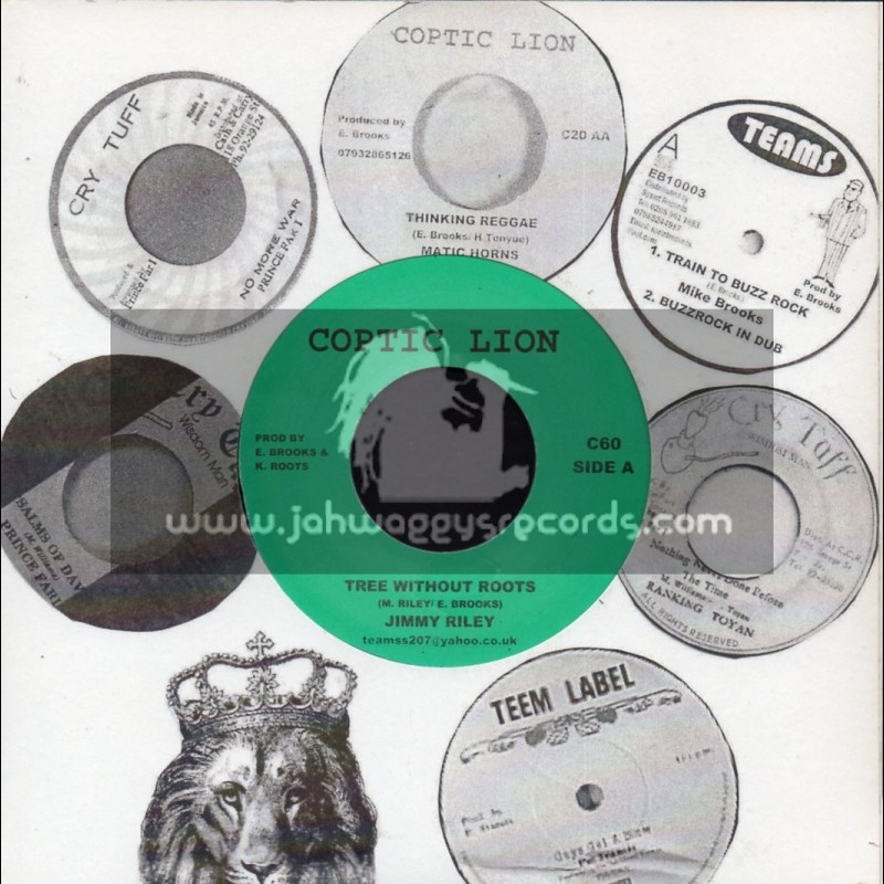 """Coptic Lion-7""""-Tree Without Roots / Jimmy Riley"""