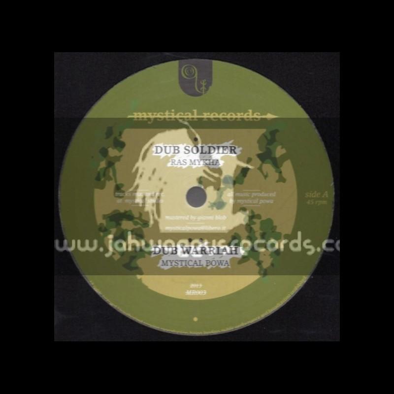 """Mystical Records-12""""-Dub Soldier / Ras Mykha"""