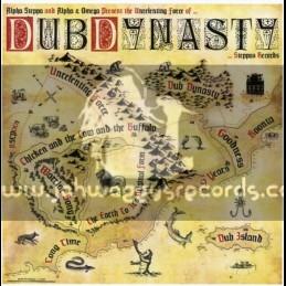 Steppas Records-Lp-Dub Dynasty / Alpha Steppa Meets Alpha & Omega