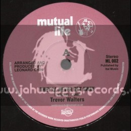"Mutual Life-(Test Press)-7""-They Never Get Away / Trevor Walters"