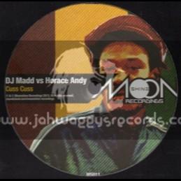 "Moonshine Recordings-12""-Cuss Cuss / Dj Mad Vs Horace Andy"