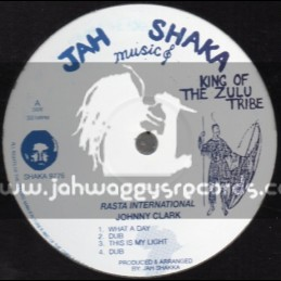 "JAH SHAKA 12"" EP-RASTA INTERNATIONAL/JOHNNY CLARK"