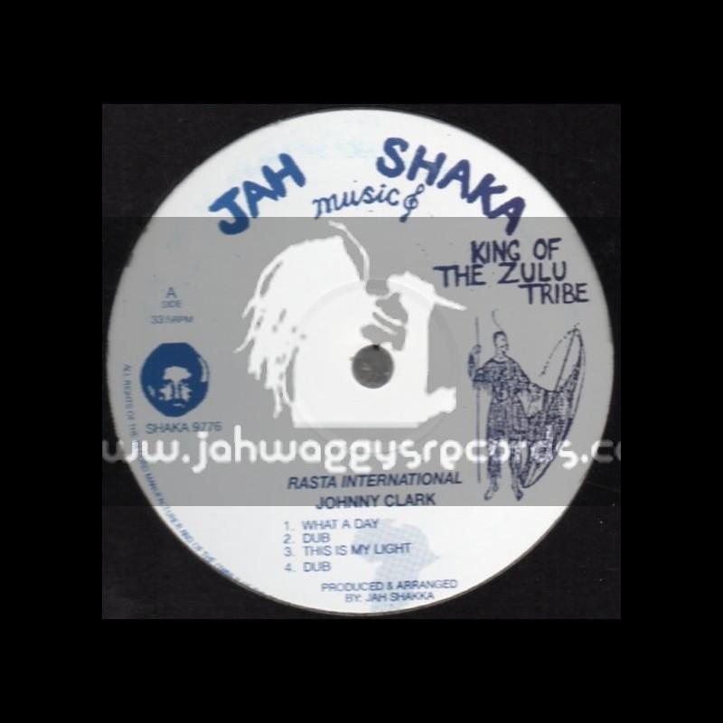 """JAH SHAKA 12"""" EP-RASTA INTERNATIONAL/JOHNNY CLARK"""