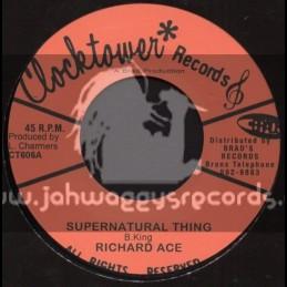 "Clock Tower Records-7""-Supernatural Thing / Richard Ace"