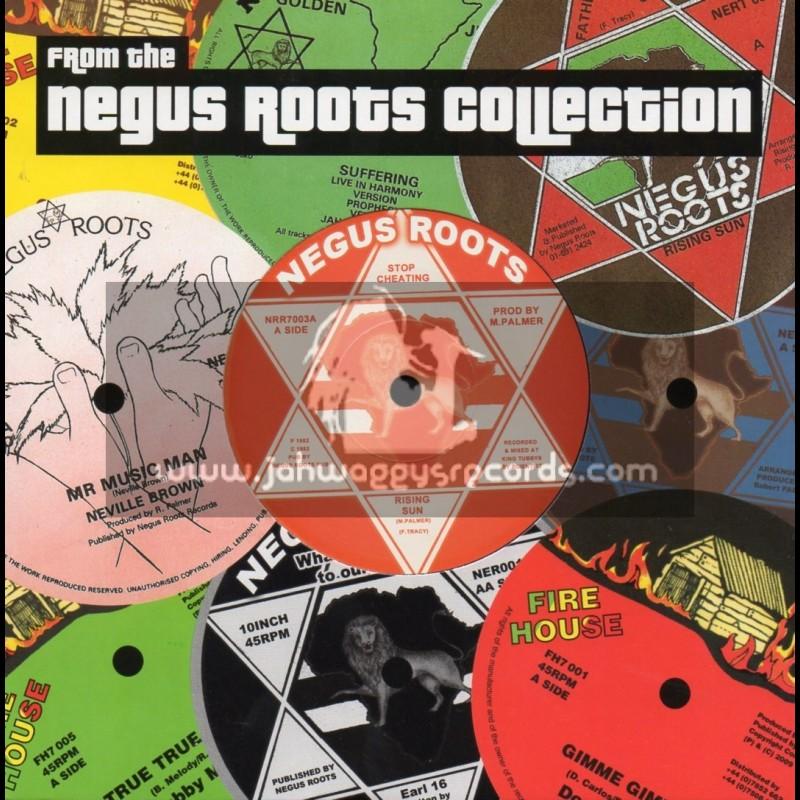 "Negus Roots-7""-Stop Cheating / Rising Sun"