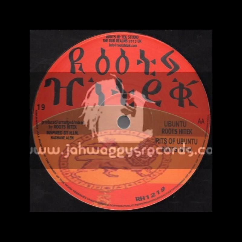 """Roots Hi Tek-12""""-Full Joy Of Life / G Vibes + Ubuntu / Roots Hi Tek"""