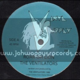 "Vinyl Supply-12""-Roar Oh Lion + Soldier Of Jah / The Ventilators"