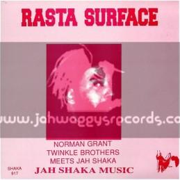 Jah Shaka Music-LP-Rasta Surface / Norman Grant Twinkle Bros Meet Jah Shaka