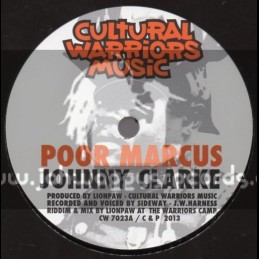 "Cultural Warriors Music-7""-Poor Marcus / Johnny Clarke"