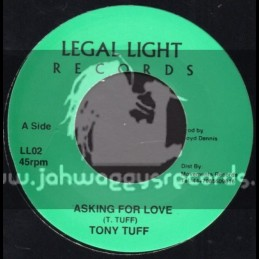 "Legal Light Records-7""-Asking For Love / Tony Tuff"