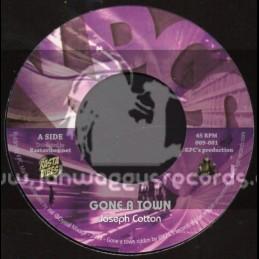 """KPCS Records-7""""-Gone A Town / Joseph Cotton"""