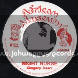 "African Museum-7""-Night Nurse + Crying Over You / Gregory Isaacs"