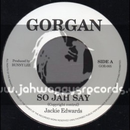 "Gorgan-7""-So Jah Say / Jackie Edwards"