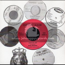 "Coptic Lion-7""-Lead Us Jah / Mike Brooks"