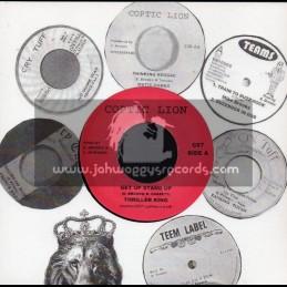 "Coptic Lion-7""-Get Up Stand Up / Thriller King"