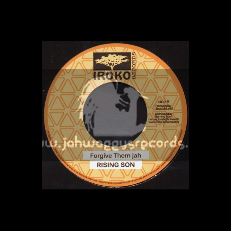"Iroko Records-7""-Forgive Them Jah / Rising Son"