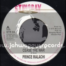 "Stingray Records-7""-Cease The War / Prince Malachi"